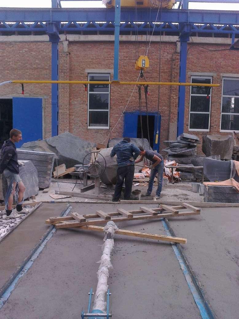 Бучардить бетон тротуар бетон